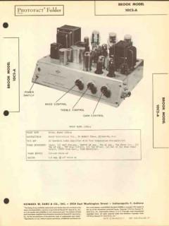 brook model 10c2-a 14 tube audio amplifier sams photofact manual