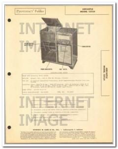 aircastle model 121124 10 tube am fm radio phono sams photofact manual