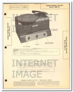 audar models bm-25 bmp-25 mobile audio amplifier sams photofact manual