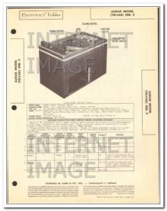 audar model telvar am radio phono wire recorder sams photofact manual