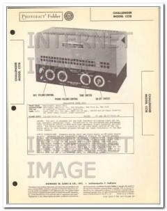 challenger model cc18 6 tube audio amplifier sams photofact manual