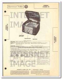 admiral model 5t12 5 tube am radio phonograph sams photofact manual