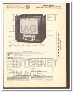 bendix models 235b1 235m1 television receiver sams photofact manual
