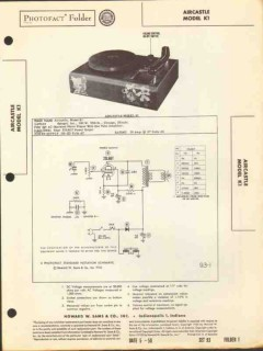 aircastle model k1 1 tube amplified phonograph sams photofact manual