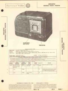 aircastle models 9009i 9009w am radio receiver sams photofact manual