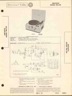 aircastle model pm-358 phonograph record player sams photofact manual