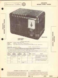 aircastle model 9008i 9008w am radio receiver sams photofact manual