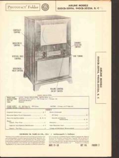 airline model 05gcb-3019a 94gcb-3024a television sams photofact manual