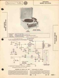 aircastle model 652.327sa 3-speed record player sams photofact manual