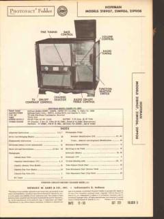hoffman model 21x90x series am fm radio tv phono sams photofact manual