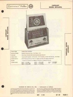 capehart model 99p66bnl 8-band radio receiver sams photofact manual
