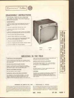 cbs-columbia chassis 2001 2002 2003 television sams photofact manual