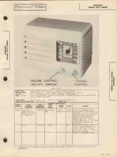 howard model 901a-x 5 tube am radio receiver sams photofact manual