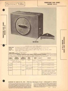air chief model 4-b-2 am car radio receiver sams photofact manual