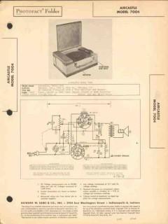 aircastle model 7004 phonograph record player sams photofact manual