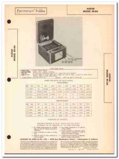 audar model re-8a 3-channel amplifier phonograph sams photofact manual