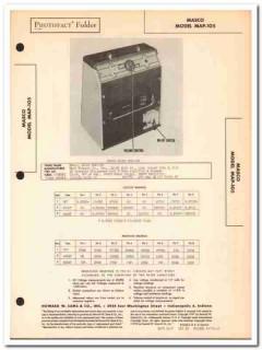 masco model map-105 3-tube audio amplifier sams photofact manual