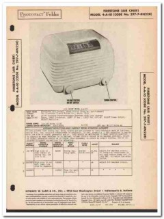 air chief model 4-a-10 5-tube am radio receiver sams photofact manual