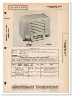 air chief model 4-a-27 5-tube am radio receiver sams photofact manual