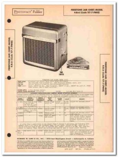 air chief model 4-b-6 117-7-pm18 car am radio sams photofact manual