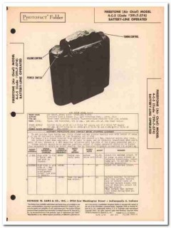 air chief model 4-c-5 portable 4-tube am radio sams photofact manual