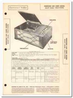 air chief model 4-a-17 7-tube am radio phono sams photofact manual