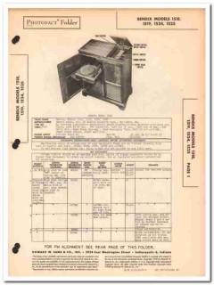 bendix model 1318 1519 1524 1525 am fm phono sams photofact manual