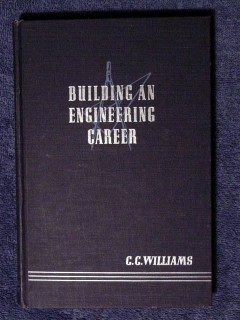 building an engineering career by cc williams vintage book