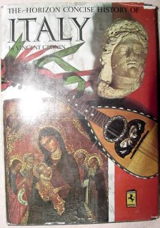 horizon concise history of italy vincent cronin art book