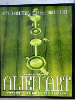 alien art ufo extraterrestrial expressions on earth sarah moran book
