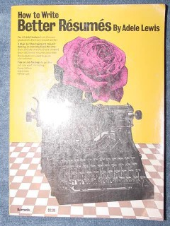 how to write better resumes adele lewis employment job book