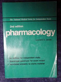 pharmacology leonard jacob board exams medical book