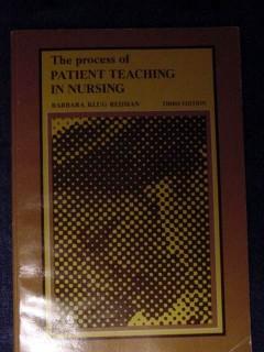 patient teaching in nursing barbara klug redman medical book