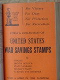 postage stamp catalogue americas british nations vintage book