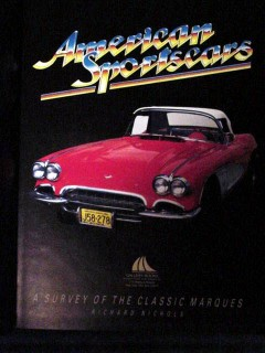 american sportscars survey classic marques richard nichols book