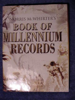 book of millennium records norris mcwhirter historical book