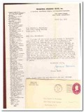 peace war and you jerome davis with letter from author 1952 book