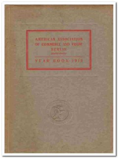 american commerce and trade berlin vintage 1913 year book