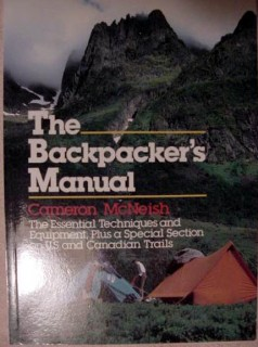 backpackers manual cameron mcneish hiking trails walk camping book