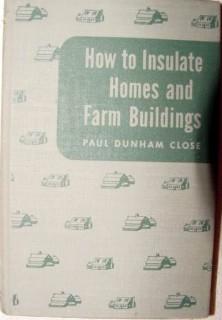 how to insulate homes and farm buildings dunham close book