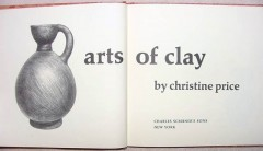 arts of clay christine price indian pots pottery book