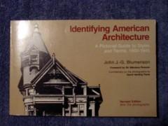 identifying american architecture 1600-1945 john blumenson  book