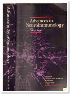 advances in neuroimmunology cedric raine immunology book