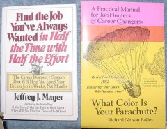 color is your parachute and find job always wanted 2 books