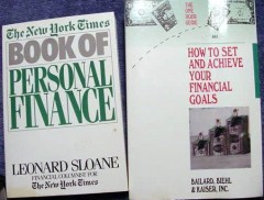 personal finance sloane achieve your financial goals 2 books