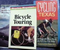 bicycle touring texas british columbia 3 three bike books