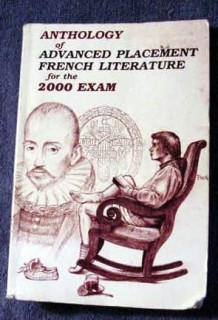 anthology advanced placement french lit exam book