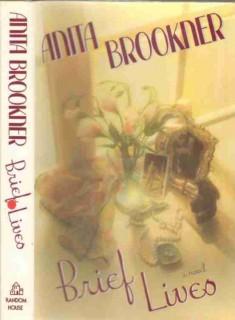 brief lives 1990 novel by anita brookner fiction book