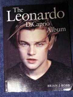 leonardo dicaprio album brian j robb stunning photographs book