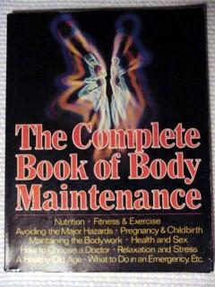complete book of body maintenance oliver gillie derrik mercer book